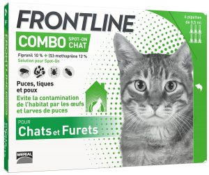 frontline combo pour chaton